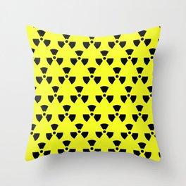Radiation Pattern Throw Pillow