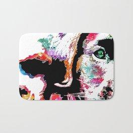 riley the lab pup Bath Mat