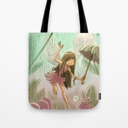 Goblins Drool, Fairies Rule! - Dewdrop Shower Tote Bag