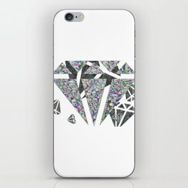 Dead diamonds iPhone Skin