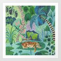 Jungle Tiger by amberstextiles