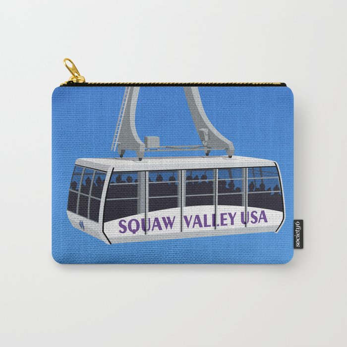 Squaw Valley Ski Resort ,LakeTahoe , California Carry-All Pouch