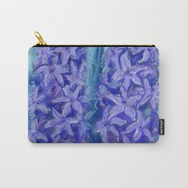 Hyacinths, violet version Carry-All Pouch