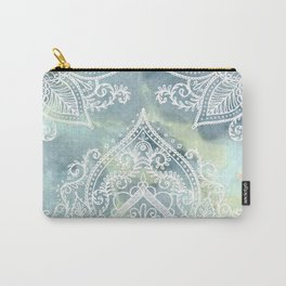 MANDALA ON MARBLE Carry-All Pouch