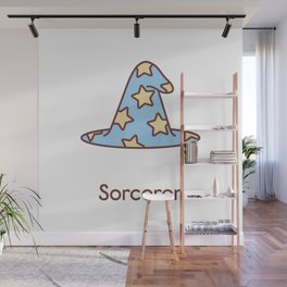 Cute Dungeons and Dragons Sorcerer class Wall Mural