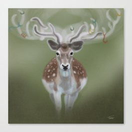 Forest Guardian  Canvas Print