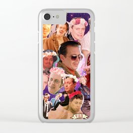 Buscemi Collage Clear iPhone Case