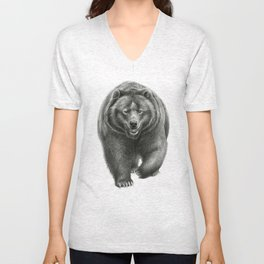 Brown Bear SK068 Unisex V-Neck