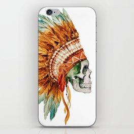 Skull 03 iPhone Skin