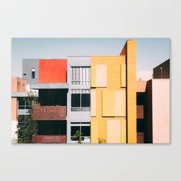 Los Angeles Architecture Canvas Print