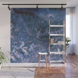 Purpley Blue Gemstone by Teresa Thompson Wall Mural