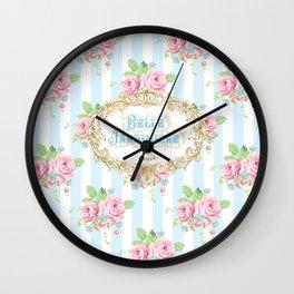 Belle Jardiniere Wall Clock