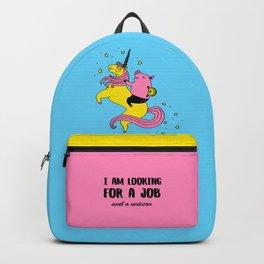 Job And Unicorn Backpack