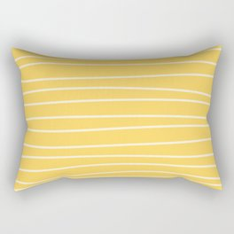 Sunshine Brush Lines Rectangular Pillow