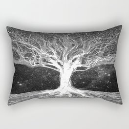 Starry Night Tree of Life Rectangular Pillow
