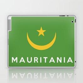Mauritania country flag name text Laptop & iPad Skin