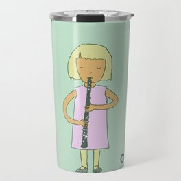 O is for Oboe Travel Mug
