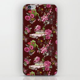 Ecto Floral iPhone Skin