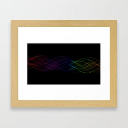 Fusion of Colours Framed Art Print