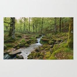 Green Stream Wide Rug