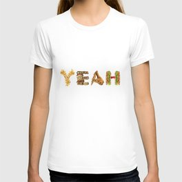 Fast Food Typography  T-shirt