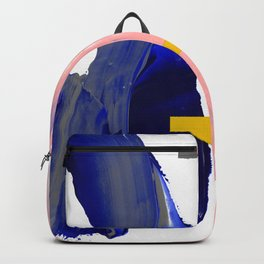 Untitled (Abstract Composition 2017008) Backpack