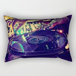 At Nightclub Rectangular Pillow