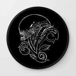 Filigree Alien Xenomorph Wall Clock