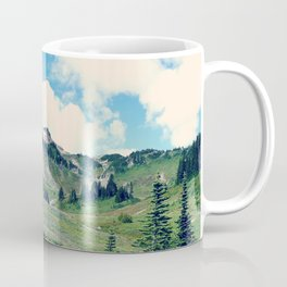 Up Mount Rainier Coffee Mug