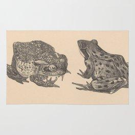 Naturalist Frogs Rug