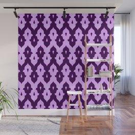 Mauresque Counterchange (Lilac) Wall Mural