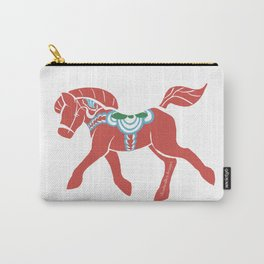 Real Dala Horse #2 Carry-All Pouch