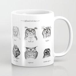 Caffeinated Owls Kaffeebecher