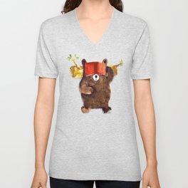 No Care Bear - My Sleepy Pet Unisex V-Neck