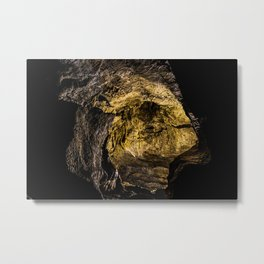 Caving in or out? Metal Print