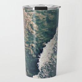 Gradient of the Sea Travel Mug