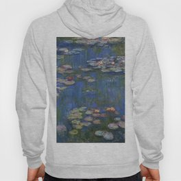 WATER LILIES - CLAUDE MONET Hoody
