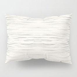 Meteor Stripes - Off White Pillow Sham