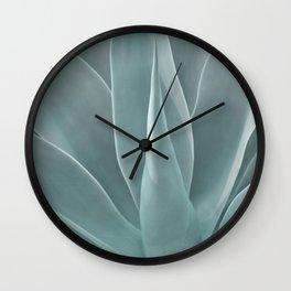 Azul Agave Plant Wall Clock