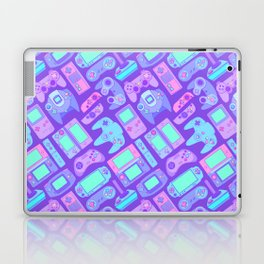 Video Game Controllers in Cool Colors Laptop & iPad Skin