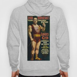 Louis Cyr, Strongest Man on Earth Hoody
