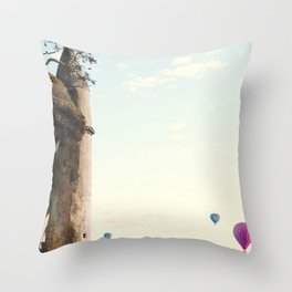 The Tower in Laguna Beach California Throw Pillow