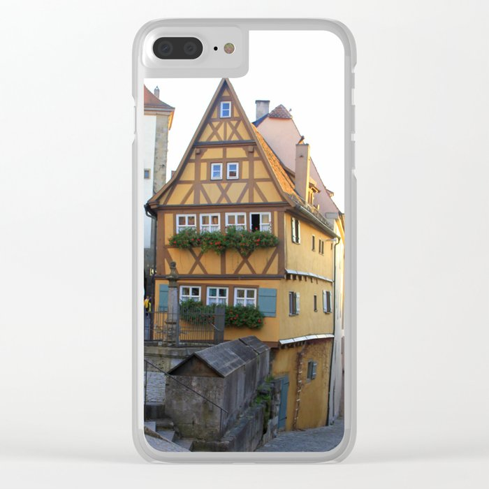 Rothenburg20150902 Clear iPhone Case