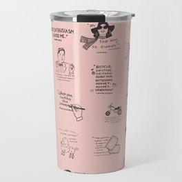 Gilmore Girls Quotes in Pink Travel Mug