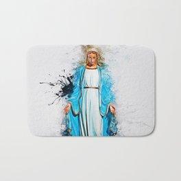 The Virgin Mary Bath Mat