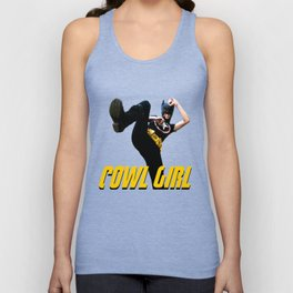 Cowl Girl - Original Design Unisex Tank Top