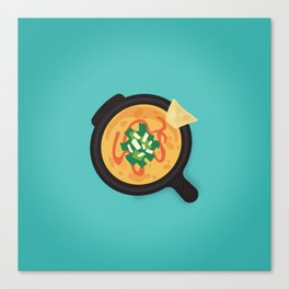 Q is for Queso Canvas Print
