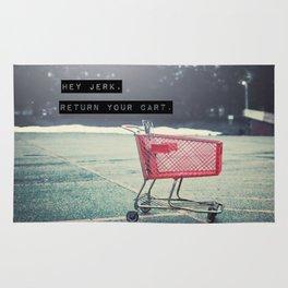 Grocery Cart Rage  Rug