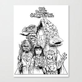 The Dark Crystal - Gelflings, Skeksis, and Mystics Canvas Print