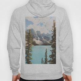 Moraine Lake II Banff National Park Hoody